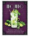Metalen plaat Mojito cocktail