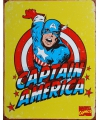 Metalen wandplaat Captain America