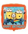 Minions verjaardags ballon