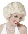 Sixties damespruik blond
