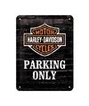 Parking only muurplaat 15 x 20 cm