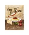 Italiaanse pasta bord