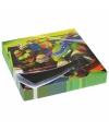 Ninja Turtles themafeest servetten