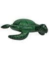Opblaasbare groene speelgoed schildpad 46 cm