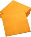 Servetjes oranje 50 stuks