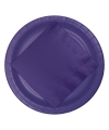 Wegwerp borden paars 8 stuks