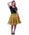 5-laagse gouden petticoat voor dames