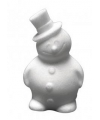 Piepschuim hobby sneeuwman 17 cm