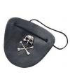 Piraten ooglapje leder look