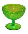 Plastic ijs glas groen
