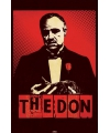 Godfather film poster The Don
