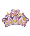 Pinata lichtroze kroon