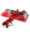 Kerststuk rode besjes