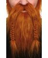 Viking baardset rood