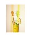 Ananas roerstokjes voor longdrink glazen