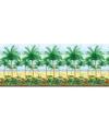 Hawaii of tropische palmboom deco rol