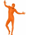Second skin outfit oranje