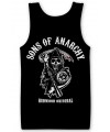 Zwarte Sons Of Anarchy tanktop