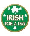 Saint Patricks Day button speldje