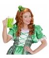 Ierse St Patricks Day mini hoedje op hoofdband