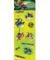 Teenage Ninja Turtles stickervellen