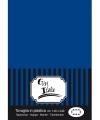Tafellaken donkerblauw 140 x 240 cm