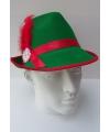 Groene tiroler hoeden heren