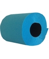 Turquoise wc rollen