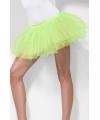 Felgroene petticoat voor dames