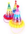 Pompon hoedje verjaardag