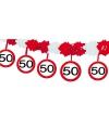 Slinger verkeersbord 50 jaar