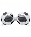 Bril in voetbal vorm