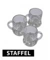 Voordelige shot glaasjes met handvat 4cm