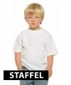 Goedkope witte kinder t-shirts