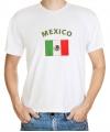 T-shirts met vlag Mexico