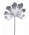Glitter tak aralia zilver 55 cm