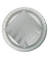 Zilveren borden 23 cm