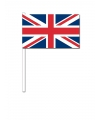 Handvlag Union Jack 12 x 24 cm