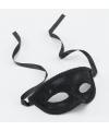 Zwart masker voor dames