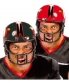 American football carnaval helm zwart