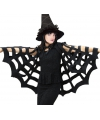 Horror spinnenweb cape